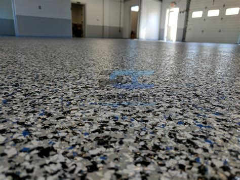 epoxy flake flooring columbus ohio premier concrete