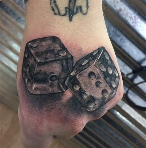 pair of dice tattoo 75 dice tattoos for the gambler s paradise of