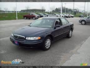 2000 Buick Century 2000 Buick Century Custom Midnight Blue Pearl Taupe