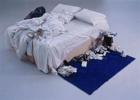 on my bed the art daily with lydia tracey emin my bed c 1999