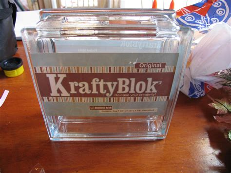 How To Decorate Glass Blocks by Decorate A Glass Block For Holidays And Special Occasions