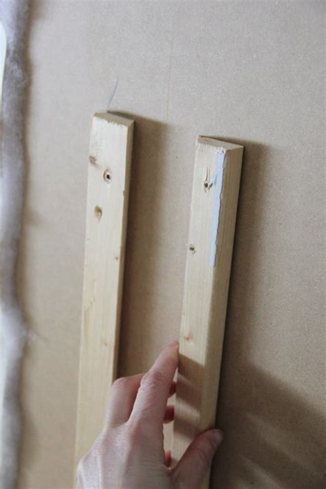 headboard hanging hardware diy a custom hanging headboard