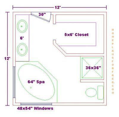 Bathroom Floor Plans Free | master bathroom floor plans master bathroom design
