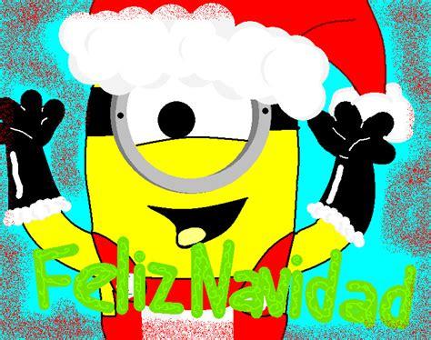 postales con los minions para navidad y prspero ao nuevo 2016 feliz navidad a la minion by kurumisawa on deviantart