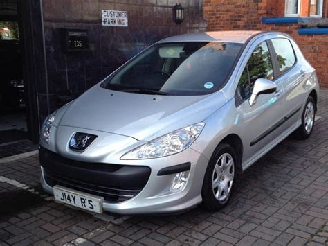 2008 peugeot 308 for sale used peugeot 308 2008 diesel 1 6 hdi 90 s hatchback silver