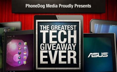 Phonedog Giveaway - phonedog announces the greatest tech giveaway ever tmonews