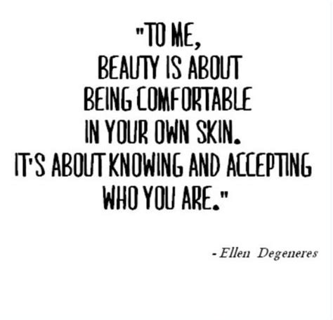 be comfortable in your own skin beauty quotes sayings images page 31