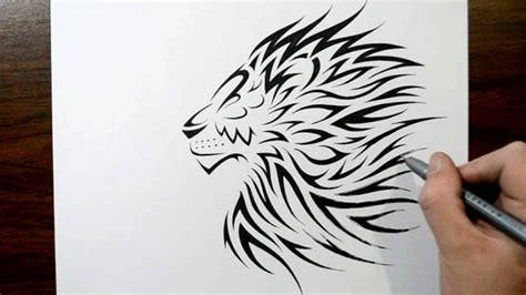how to draw a tribal tattoo design how to draw a tribal design style
