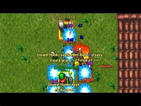pk 98 druid (tibia umera) youtube