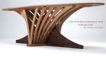 Bespoke contemporary furniture in wood sustainable handmade