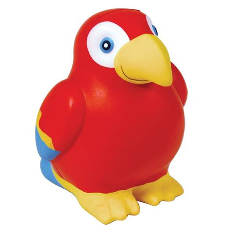 Squeeze parrot stressballs version b custom printed save up to 42