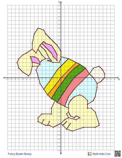 printable graphs math aids graphing worksheets four quadrant graphing characters