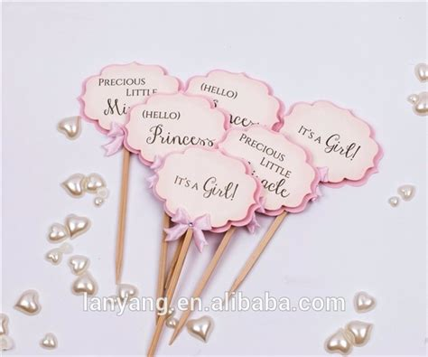 Baby Shower Topper by Paper Baby Shower Cupcake Toppers Shower