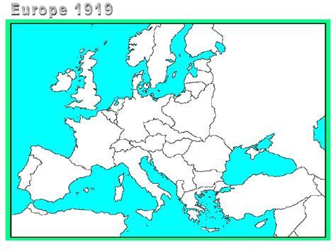 europe map 1919 map europe 1919