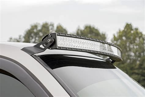 52 Led Light Bar 54in Curved Led Light Bar Upper Windshield Mounting