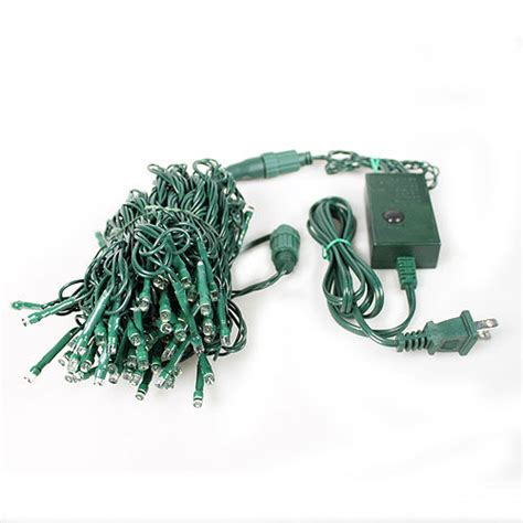 led christmas lights 33 feet with connector and