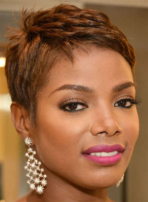 short hairstyle for african american women pinterest dazzling short natural haircut for girls wavy african