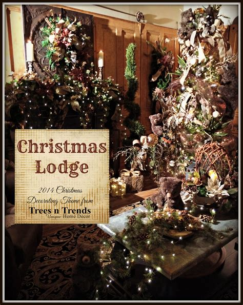 masculine christmas decorations trees n trends quot lodge quot a manly decorating theme for 2014