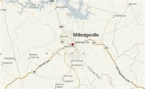 milledgeville map milledgeville location guide