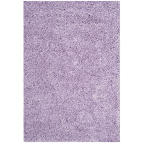rugs california safavieh california shag lilac 6 ft 7 in x 9 ft 6 in area rug sg151 7272 7 the home depot