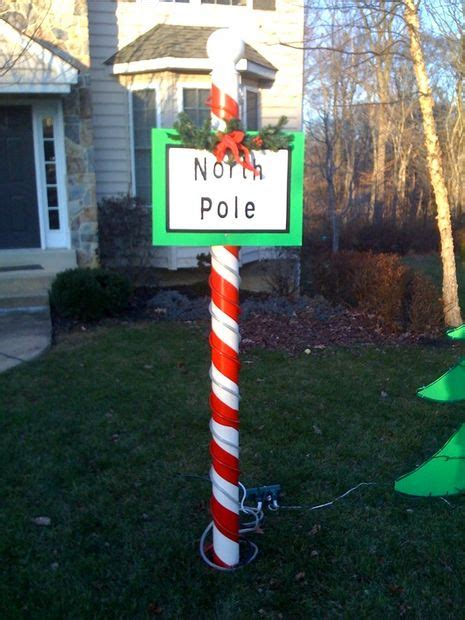 north pole christmas decoration 3 steps