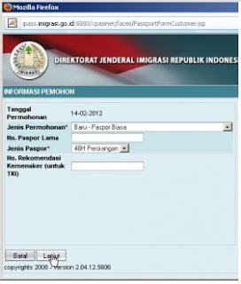 syarat membuat paspor secara online talk with me membuat paspor secara online