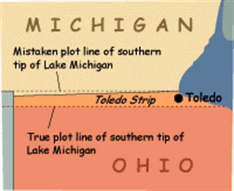 state vs. state: the toledo war « seeking michigan
