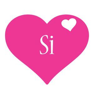 Si Logo   Name Logo Generator   I Love, Love Heart, Boots