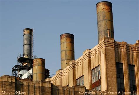 L Stacks south amboy s e h werner power station new jersey