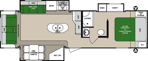 surveyor travel trailer floor plans document moved