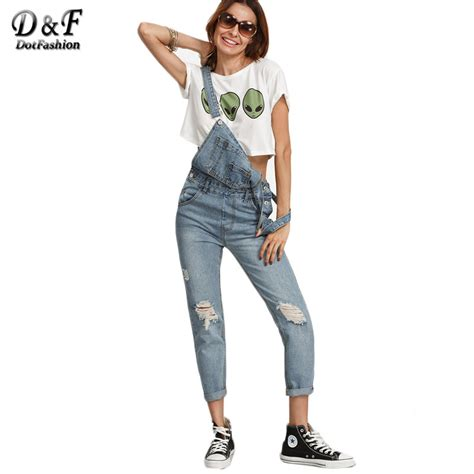 Ripped Overall Sy T2909 1 174 dotfashion ripped wash wash denim overall