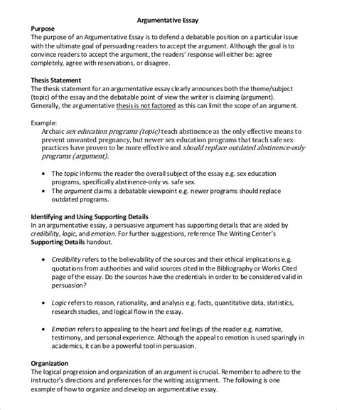 Abstinence Essay by Position Argument Essay