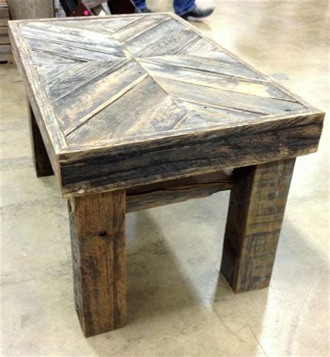 Diy Pallet Chevron Top Coffee Table Pallet Furniture Plans Pallet Wood Table Top