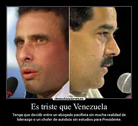 imagenes venezuela triste im 225 genes y carteles de venezuela pag 57 desmotivaciones