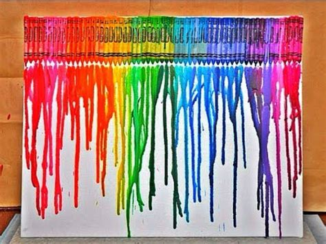 diy crayon melting