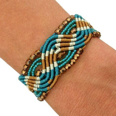 Macrame Knots Bracelet - lucia windswept macrame bracelet guatemala bracelets