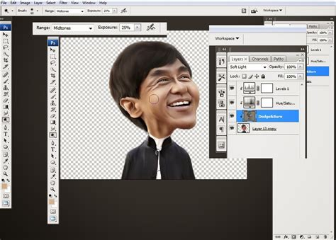 cara membuat gambar montase cara membuat karikatur menggunakan photoshop anis irmawati