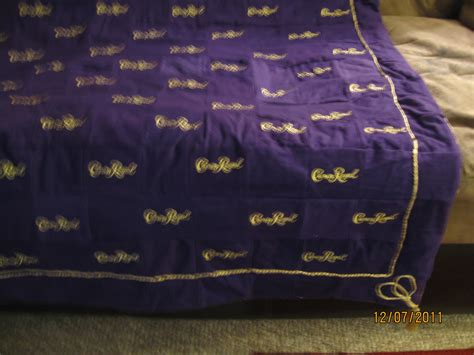 Quilts Made From Crown Royal Bags by Crown Royal Quilts June 2012