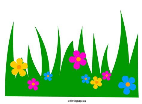 printable grass images printable grass template clipart best