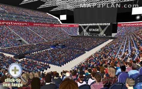 Metro Arena Floor Plan by O2 Arena London Seating Plan Detailed Seat Numbers