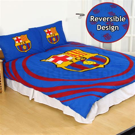Bed Cover Barcelona Uk 180x200 official fc barcelona duvet cover sets bedding bedroom