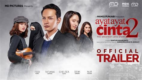 film laga indonesia darah dan cinta 2 ayat ayat cinta 2 official trailer youtube