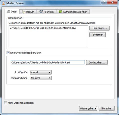tutorial vlc windows 10 untertitel in den vlc media player einf 252 gen tutorials