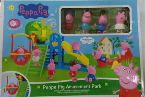 Paw Patrol Amusement Park Besar Product Code Dol 0365 peppa pig amusement park toys