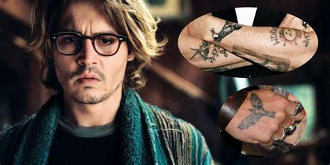 johnny depp chest tattoo johnny depp chest tattoos pictures to pin on pinterest