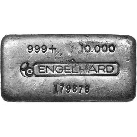 10 Oz Engelhard Silver Bar Price - buy 10 oz engelhard poured silver bars secondary market