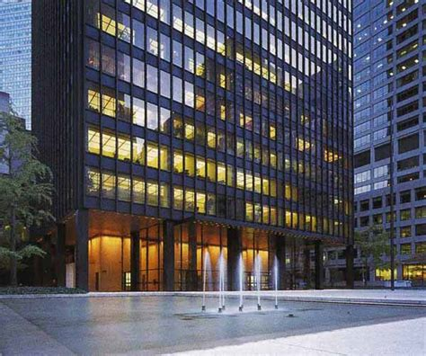 Curtain Wall Details New York Architecture Images The Seagram Building