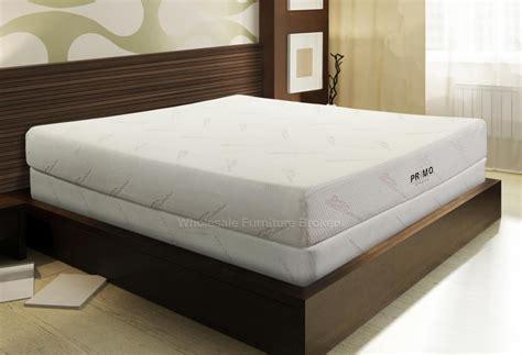 Foam Size Mattress by 8 Inch Size Memory Foam Mattress By Primo International