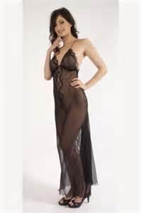 sheer silk night dress lutece by liliana casanova