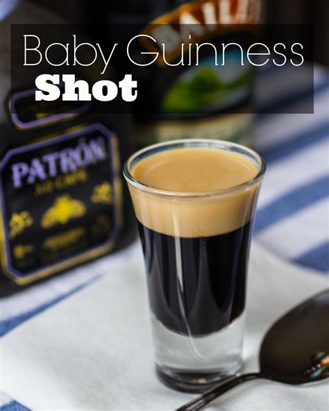 baby guinness shot the watering mouth